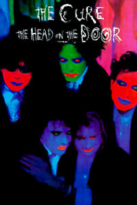 """The Cure """" The Head on the Door"""" 1985 US Promo Poster print"""