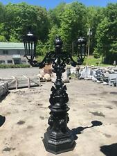 Beautiful Cast Iron Victorian Design 2 Arm Street Lights - L63C