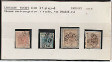 FRANCOBOLLI 1850 LOMBARDO VENETO 4 VALORI Z/2408