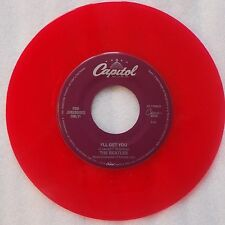 BEATLES: I'll Get You / She Loves You RED WAX 45 NM STOCK capitol JUKEBOX