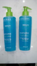 Bioderma Sebium Purifying Cleansing Foaming Gel 6.8oz / 200mL - 2 PACK DUO SET