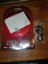 Coby CD-190-RED Portable Compact CD Player Misc