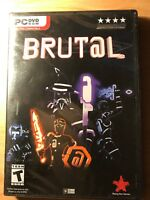 Brut@al PC - Rising Star Games 2017 - New Sealed Brutal Video Game