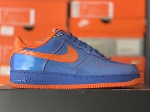 dividendo Resaltar Grande  Las mejores ofertas en Zapatos de Cuero Charol Nike azul para hombres | eBay
