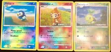 Pokemon Trading Card Game Gen 4 Beginners Piplup, Chimchar, Turtwig Holographic