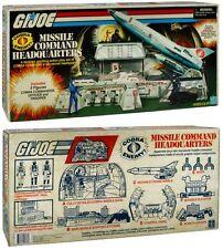 Sdcc 2017 Hasbro Exclusive G.I. Joe Cobra Missle Command Headquarters 1983 Repro
