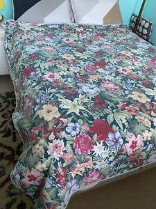 Vintage Sheridan 90's Quilt Cover Australian Flowers Floral Waratah Desert Pea