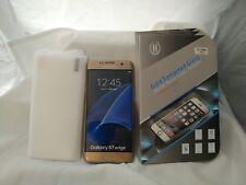 Samsung Galaxy S7 Edge screen protector curve perfect fit HD clear TPU 50x