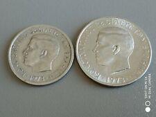 Greece Lot Drachmai 2+5 1973-2Coins