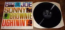 LIGHTNIN HOPKINS BROWNIE McGHEE SONNY TERRY BIG JOE WILLIAMS UK SAGA BLUES LP