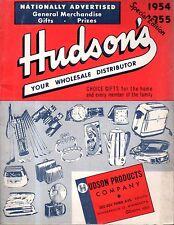 1954 Hudson's Catalog-Minneapolis -tpys, dolls, pedal cars, jewelry,cigaret case