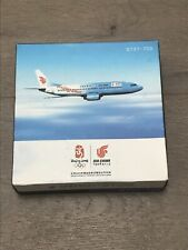 Air China Beijing Olympic Livery BOEING 737-700 Model Airplane Aircraft 1:280