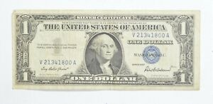 Crisp - 1957 United States Dollar Currency $1 Silver Certificate *580