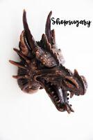 Skulptur zum Aufhängen - Drachenkopf Kunstharz Rasin Chinese Dragon Dekoration