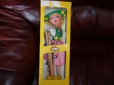 pelham puppet tyrolean girl,unused box shows wear