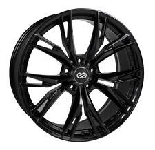 18x8 Enkei ONX 5x114.3 +40 Gloss Black Wheels (Set of 4)