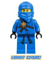 LEGO Ninjago Minifigure - Jay - The Golden Weapons minifig njo004 FREE POST