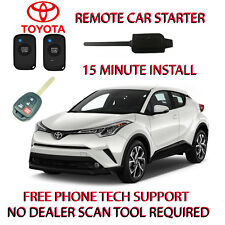 2018 TOYOTA CHR REMOTE START- NO WIRE SPLICING- EASIREGULAR KEY ONLY