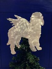 Golden Doodle Angel, Dog Tree Topper, Wreath Decor, Holiday