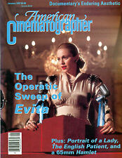 American Cinematographer vol 78, Evita, Paradise Lost, The English Patient