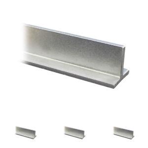 T-Profil roh Edelstahl Profil V2A T Profil VA T-Stahl Profileisen A2 bis 145 cm