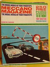 MECCANO DECEMBER 1966 HAWKER FURY CYCLE WINDSPEED INDICATOR  PT 19 FERRARI 250P