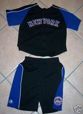 NEW 2 PIECE SET NEW YORK METS JERSEY SHIRT SHORTS 4