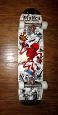 Powell Peralta skateboard Rodney Mullen complete Powell Peralta deck white NEW !