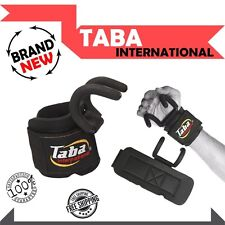TABA WORK OUT WEIGHT LIFTING TRAINING GYM GRIPS STRAPS WRIST SUPPORT LIFT HOOK
