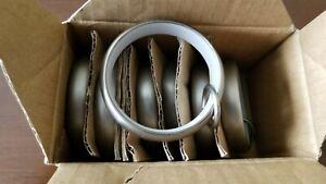 Restoration Hardware Large Estate Loop Rings (7 Rings), Pewter