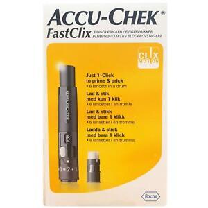 Accu-Chek FastClix Lancing Device With 1 Drum (6 lancets) Diabetes Care