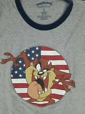 New listing Vintage Single Stitch Usa July 4th American Flag Looney Tunes Graphic T-Shirt