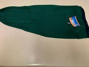 Petratgeous Designs Dog Thermal Hoodie Green/Blue Trim Large New