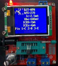 DIY kits Mega328 Transistor Tester LCR Capacitance ESR meter Frequency Signal