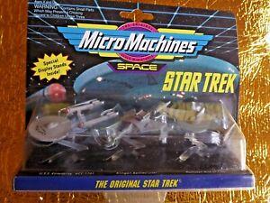STAR TREK - Micro Machines ST Original Series Collection No.1 1994 Galoob #65825