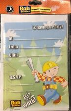 BOB THE BUILDER BIRTHDAY PARTY SUPPLIES 20 X INVITE INVITATIONS PACK LICENSED