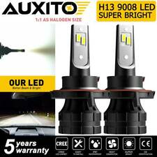 AUXITO H13 9008 LED Headlight Bulb for Dodge Ram 2006-2012 White Hi Low Beam Z1