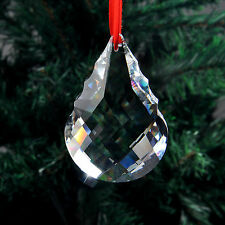 50mm Teardrop Chandelier CRYSTAL Lamp Prism Window Decor Drop Pendant SUNCATCHER