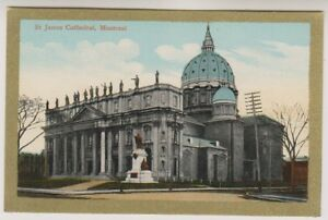 Canada postcard - St James Cathedral, Montreal (A110)