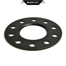 """A Pair of 5mm (5x114.3) For Tesla Model 3 2017+ Black Wheel Spacer 5x4.5"""" CB64.1"""