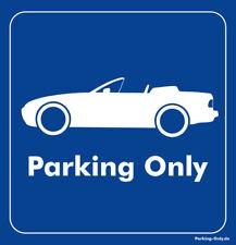 Parking Only - Porsche 944 Cabrio - Aufkleber