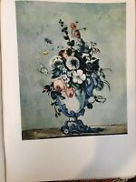 "National Gallery of Art, Cezanne ""Vase of Flowers"" Print, 11"" x 14 1/2"" (Paper)"