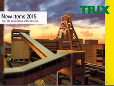 TRIX NEW ITEMS CATALOG 2015 | NOS | TMS-1025
