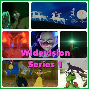 Disney Collect Topps - Wide Vision Series 1 Master w/awards 24 Digital Cards SR