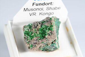 uranium mineral *TORBERNITE* mineral specimen from Musonoi Mine, DR Congo