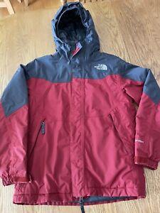 North Face Winter Coat Ski Jacket Boys Size Medium