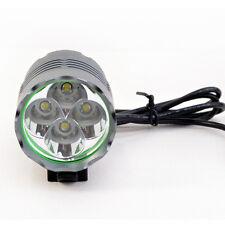 Cree XM-L T6 LED Bike Bicycle Headlamp Headlight Rechargeable 6400mAh Battery