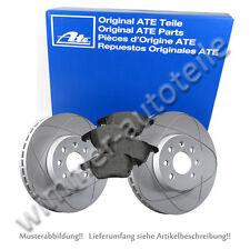 ATE POWERDISC + ATE Bremsbeläge vorne AUDI  312x25mm mit Warnkontakt