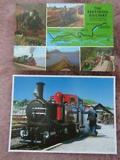 2x Vintage Festiniog Railway Postcards