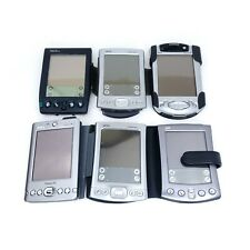 Lot of (6) Untested Palm Pilot Pdas (PalmOne, Palm Iiixe, Palm, Dell Axim, iPaq)